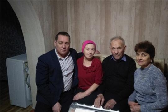 90-летний юбилей отметил житель Богатыревского сельского поселения