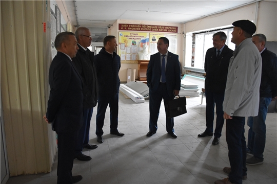 В Аликовском районе к новому учебному году обновится еще одна школа