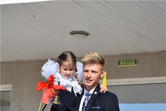 День знаний в Аликовской школе