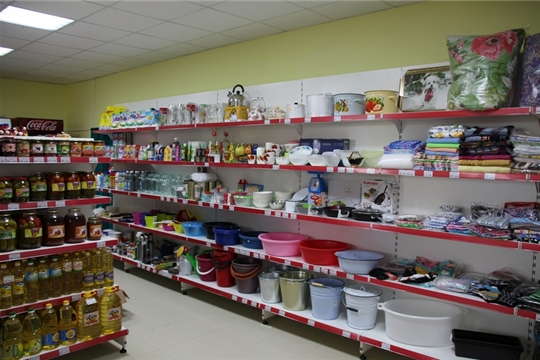 В деревне Нижние Елыши после капитального ремонта открылся магазин Аликовского райпо