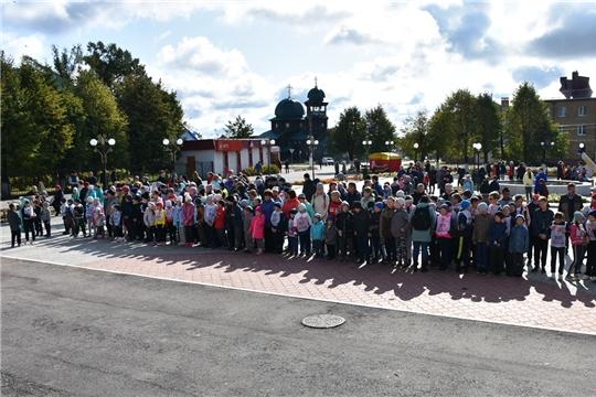 Жители Аликовского района присоединились к Всероссийскому дню бега «Кросс нации - 2019»