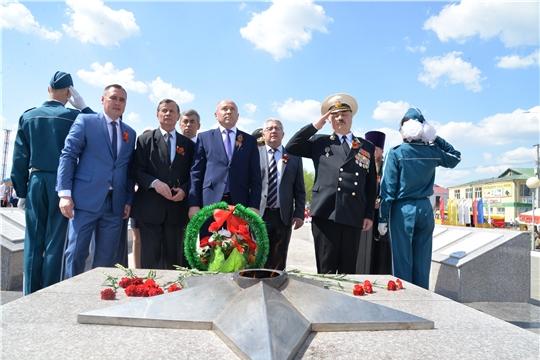 Празднование 74-й годовщины Победы в ВОВ в Батыревском районе