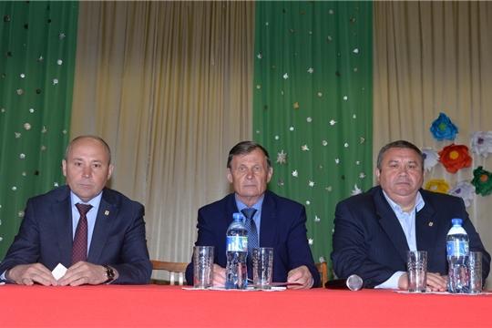 Выездное заседание Общественного совета Батыревского района