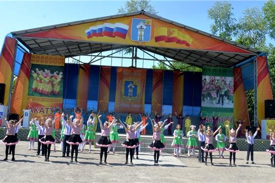 Традиционный праздник - детский «Акатуй- Сабантуй»