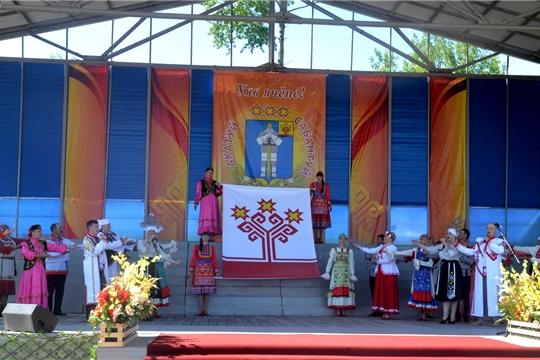 В Батыревском районе состоялся «Акатуй-Сабантуй»