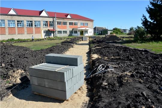 В Бикшикском сельском поселении  начат ремонт клуба и благоустройство сквера