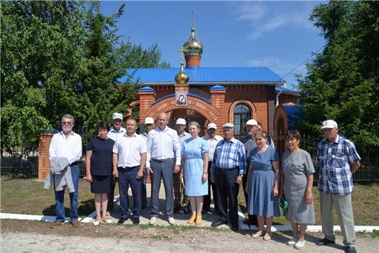 Старосты населенных пунктов Батыревского района ознакомились с опытом работы старосты д.Тоскаево соседнего района