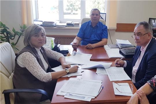 Выездное заседание межведомственной комиссии по вопросам повышения доходов консолидированного бюджета Батыревского района в Тойсинском сельском поселении
