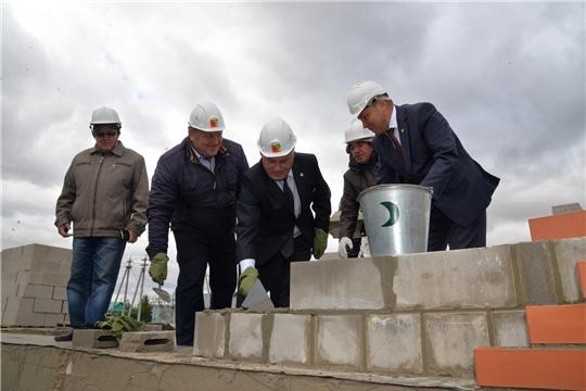 В д.Татарские Сугуты строится новый клуб