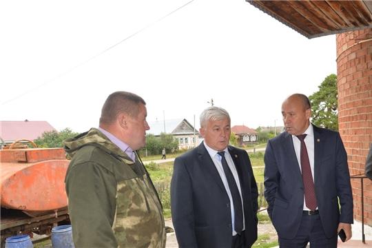 Р.Селиванов проинспектировал ход ремонта учреждения культуры