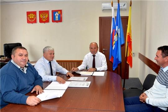 Обсуждены задачи по успешному завершению строительства дороги в с.Н.Шигали