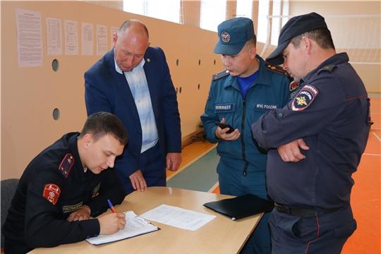 О принимаемых мерах по обеспечению общественной безопасности в ходе проведения единого дня голосования 8 сентября 2019 года.