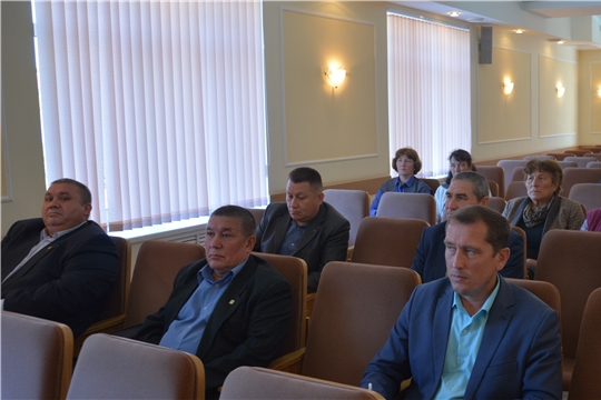 Заседание Совета по делам национальностей Батыревского района