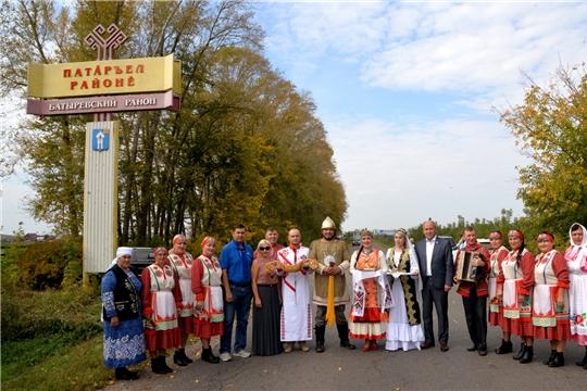 Делегация Благотворительного фонда Елены и Геннадия Тимченко посетила Батыревский район