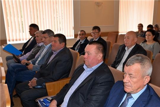 Очередное заседание Собрания депутатов Батыревского района