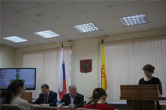 Заседание общественного Совета Чебоксарского района
