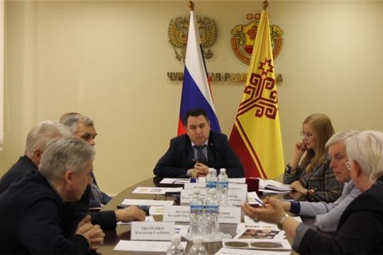 Состоялось заседание рабочей группы по обсуждению концепции памятной медали «100-летие образования Чувашской автономной области»