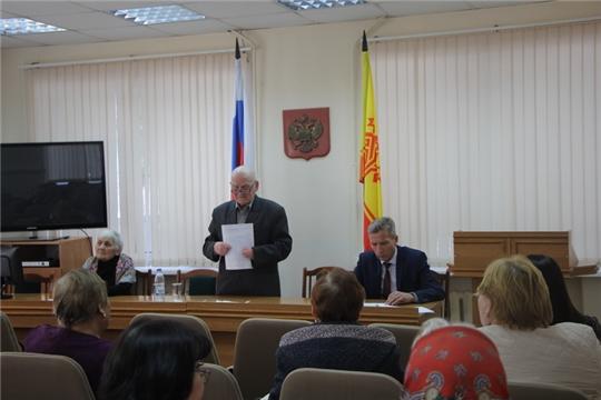 Заседание Правления ЧРО ВОИ по итогам 2018 года состоялось в Чебоксарском районе