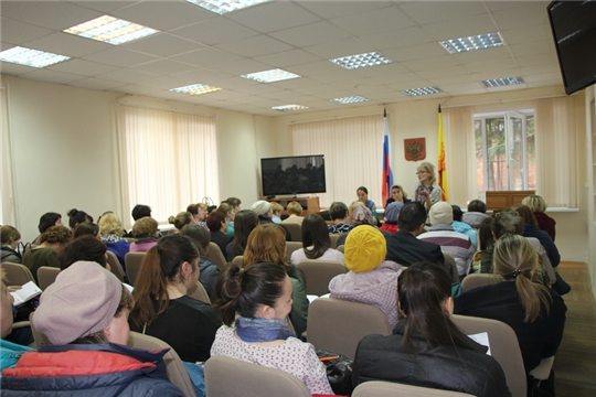 Обучающий семинар для работников пищеблоков образовательных учреждений Чебоксарского района прошел в п. Кугеси