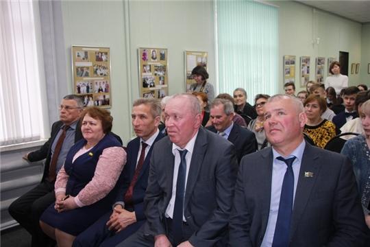 В Чебоксарском районе открыта выставка к 80-летию председателя райисполкома в 1978-1982 годы  Борисова Ю.Г.