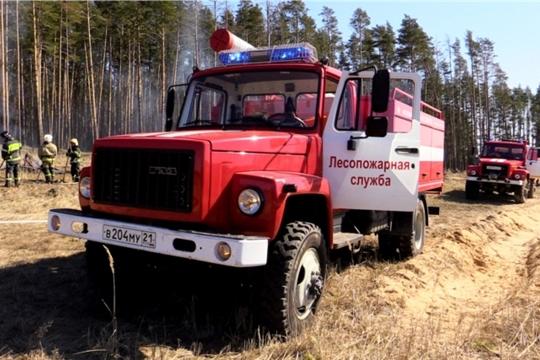 С 1 мая в Чувашии будет установлен особый противопожарный режим