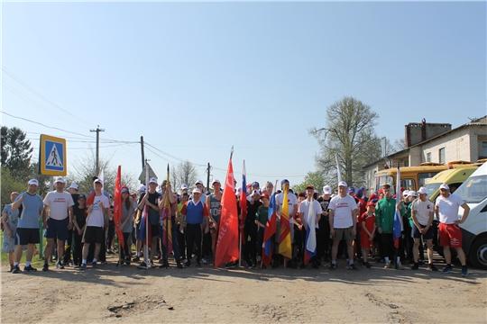 В честь Дня Победы в Чебоксарском районе прошла масса спортивных мероприятий