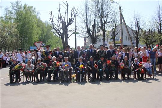 День Победы в Чебоксарском районе: «Мы помним, мы гордимся!»