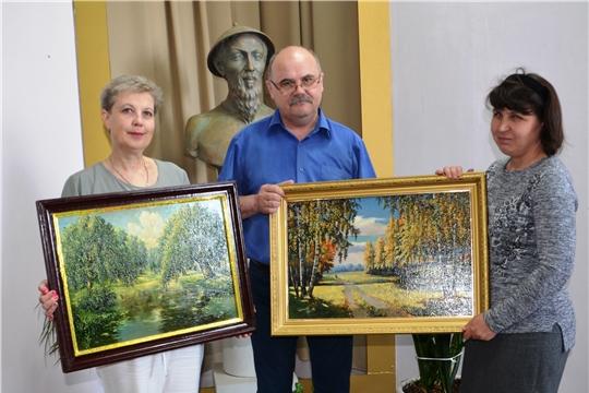В дар музею из Санкт-Петербурга картины художника Федорова Н.Ф.