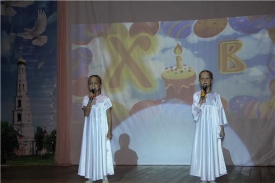 Открытый районный фестиваль художественного творчества «Пасха Величавая» состоялся в Чебоксарском районе