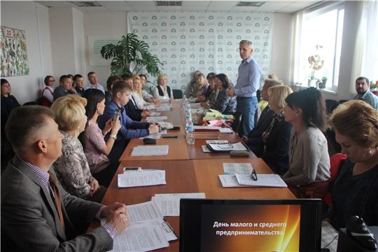 День малого и среднего предпринимательства в Чебоксарском районе!