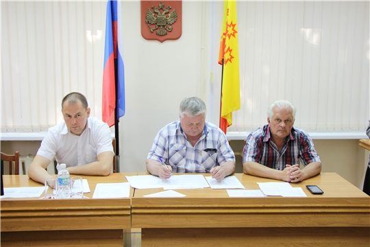 Состоялось заседание общественного Совета Чебоксарского района