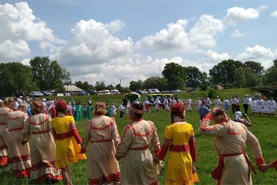 На фестивале чувашской народной песни