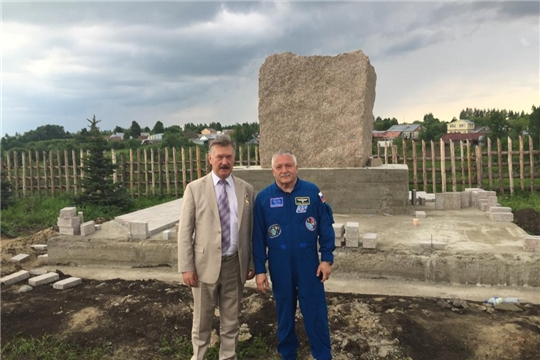 В Чебоксарском  районе в «Саду  покорителям космоса имени А.Г.Николаева» планируется установить самолет
