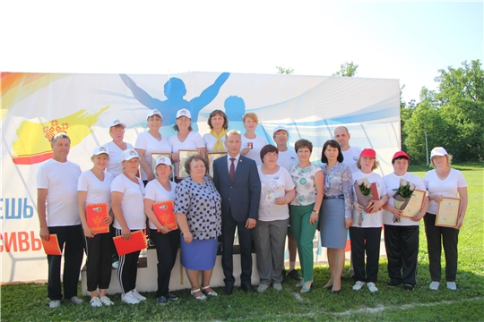 В Чебоксарском районе отметили День социального работника, районной акцией «10 тысяч шагов к жизни»