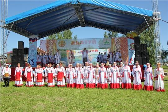 В Чебоксарском районе отметили праздник песни, труда и спорта «Акатуй-2019»