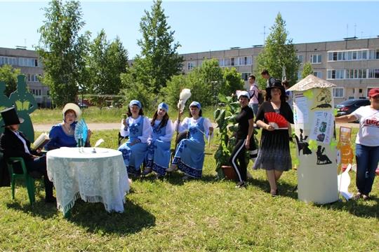 Библиотекари района приняли участие в районном празднике «Акатуй»