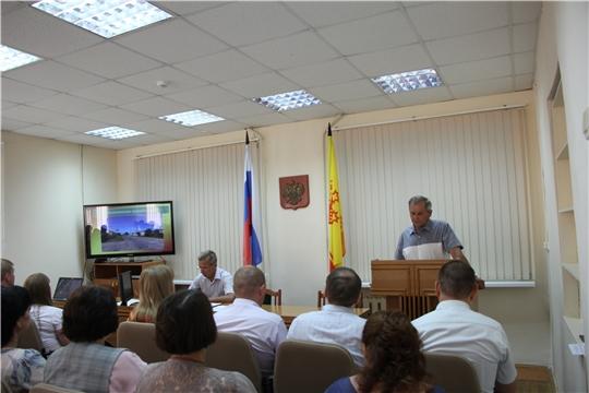 В администрации Чебоксарского района подвели итоги районного праздника «Акатуй» и обсудили наиболее актуальные вопросы на предстоящую неделю