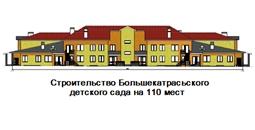Строительство Большекатрасьского детского сада