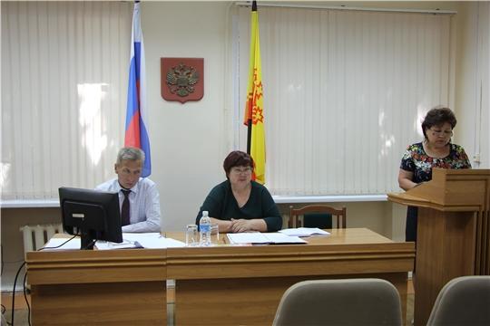 Прошло внеочередное тридцать седьмое заседание Собрания депутатов Чебоксарского района Чувашской Республики шестого созыва