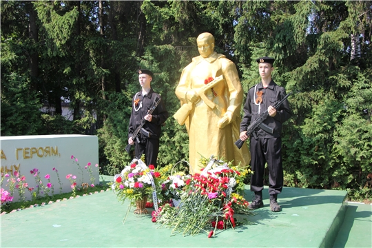 В Чебоксарском районе, в День памяти и скорби, вспомнили тех, кто не вернулся с полей сражений в годы Великой Отечественной войны