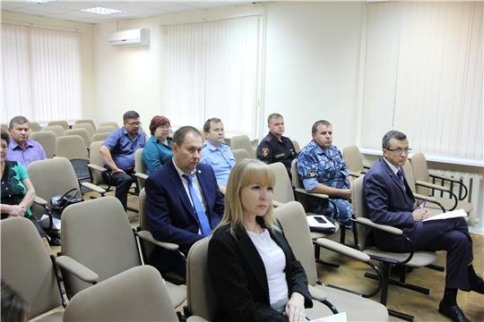 В Чебоксарском районе состоялось очередное заседание Комиссии по профилактике правонарушений
