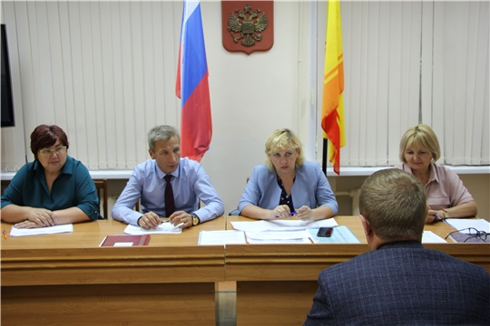 В администрации Чебоксарского района состоялась комиссия по повышению устойчивости социально-экономического развития Чебоксарского района