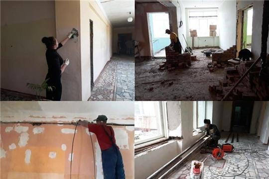 Капитальный ремонт спортивных залов Чебоксарского района