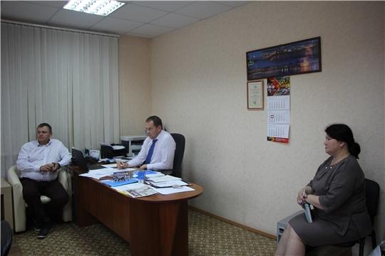 В администрации Чебоксарского района прошел прием граждан