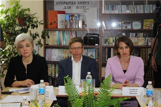 В Чебоксарском районе состоялось  заседание Общественного совета при Минюсте Чувашии