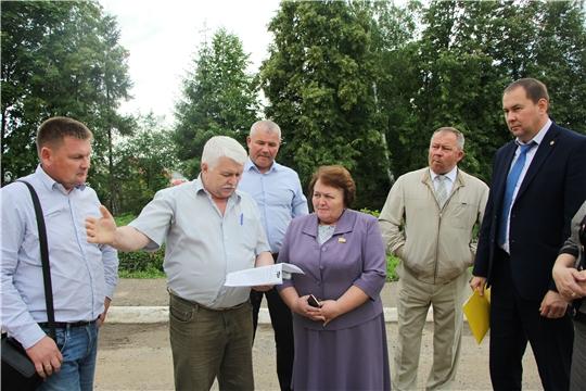 Председатель Государственного Совета Чувашской Республики посетила с рабочим визитом «Ишлейскую СОШ»
