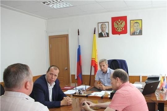 Состоялась рабочая встреча с вновь назначенным генеральным директором ООО «Изва» Шмаковым Алексеем Валерьевичем.