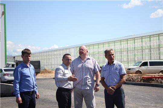 Рабочий визит в ООО Тепличный комплекс «Новочебоксарский»