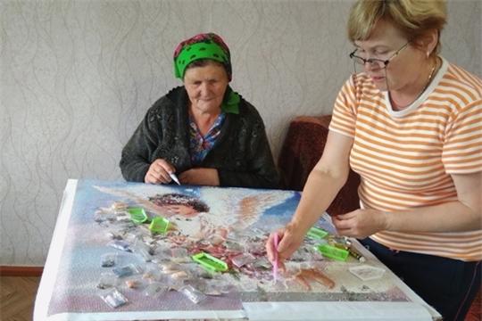 Обучение алмазной вышивке