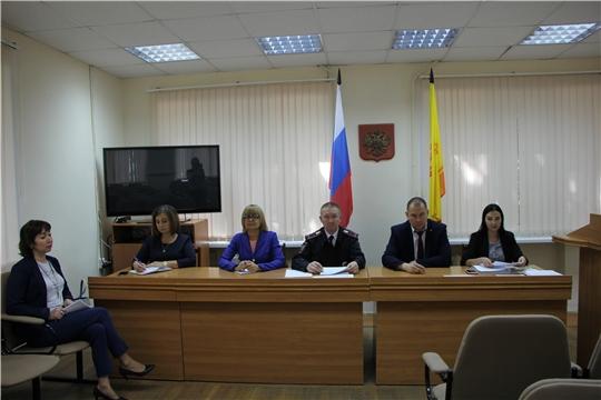 Итоги заседания комиссии по делам несовершеннолетних и защите их прав  администрации Чебоксарского района